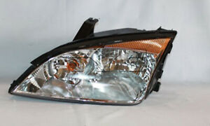 Tyc 20 6724 00 9 Left Headlight Assembly For 2005 2007 Ford Focus Fo2502210