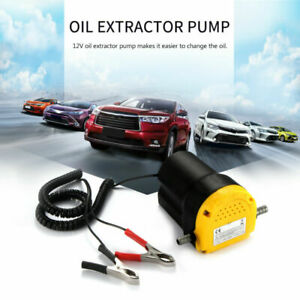 Car Dc 12v Oil Extractor Scavenge Suction Vacuum Transfer Change Pump Electric