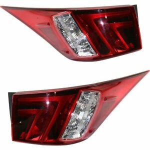 Right Left Side Outside New Tail Lights Lamps Set Of 2 Lh Rh For Is300 16 Pair