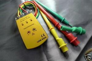 3 Phase Electricity Rotation Tester Detector Meter