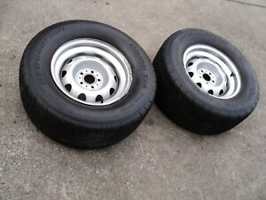 Mopar Dart Cuda Valiant Duster Rally Wheels W Drag Radial Tires
