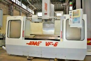 1995 Haas Vf 6 Cnc Vertical Machining Center 7500rpm Spindle 24 Atc prewired 4