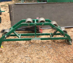 Greenlee 638 36 Radius Right Angle Conveyor Sheave W 6 Rollers