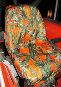 Durafit Seat Covers Kubota Orange Camo Seat Covers For Tractor B2320 B2620