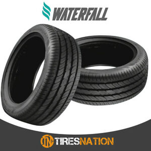 2 New Waterfall Eco Dynamic 205 40r16 83w Xl Tires