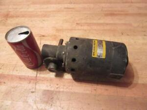 Used Baldor Boehm 115 Volt Dc Gear Reduction Small Electric Motor Frame 72 7 5 1