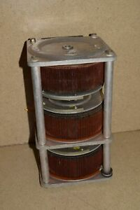 General Radio Co Variac Brush Type W20 Stack Of 3