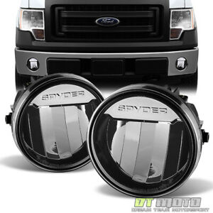 Plug Play 2011 2014 Ford F150 Led Driving Bumper Fog Lights Left Right