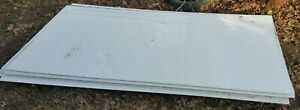 040 49 X 96 4 x8 White Sheet Pre drilled Aluminum Trailer Wall Roof Side