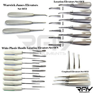 Professional Luxating Elevators Oral Surgery Root Tooth Extracting Extraction