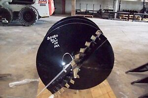 36 X 4 Skid Steer Auger Bit Mcmillen Hdc For Difficult Digging 2 Hex Drive