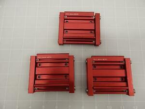 Lot Of 3 P3010 Mr 100 Pneumatic Cylinder Module T61010