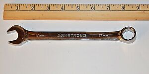 17 Mm Armstrong Usa Full Polish 12 Point Combination Wrench New