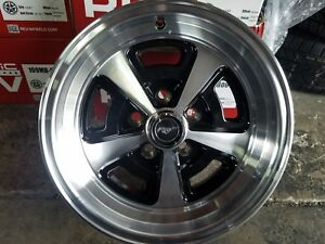 4 new Magnum 500 Style Wheels 15x7 5x4 1 2 Bolt Pattern Alum Silver Alloy