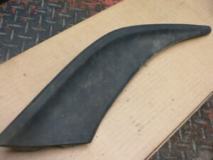 84 1984 Porsche 928s 928 Left Rear Rubber Spoiler Part
