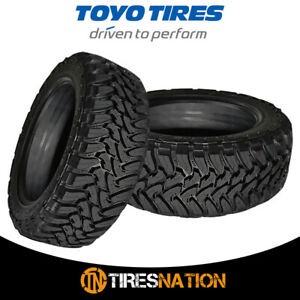 2 New Toyo Open Country M t 38x15 50r20 8 125q Tires