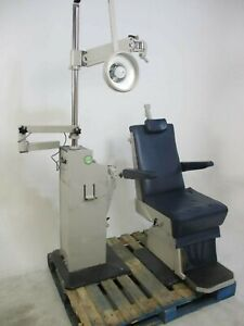 Burton Xl 3000 Dental Exam Patient Chair W Operatory Light Sold As i