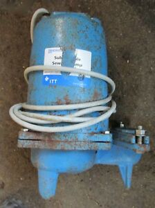 Barely Used Goulds Submersible Effluent Pump 1 Hp