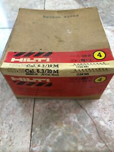 Hilti Yellow Shots 27 Cal Short 6 3 10m Box Of 1000 Dx 35 New Old Stock 50116