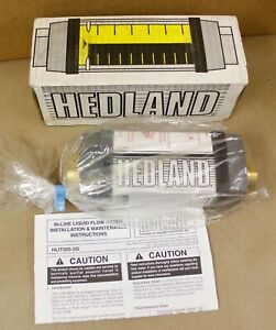 Hedland H705b 010 Flow Meter 3 4 Npt 10 Gpm H705b010 New In Box Surplus