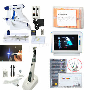 Dental Endodontic Obturation Gun Pen Root Canal Led 16 1 Endo Motor Apex Locator