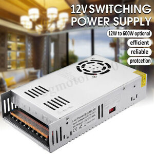 Lot Dc 12v Led Driver Switching Power Supply Transformer For Strip Cctv