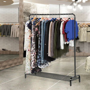 All metal Free Standing Commercial Grade Clothing Garment Rack 45 7x15 7x57 1 In