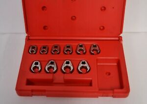 Matco Tools 10 Piece Metric 10 19mm Crows Feet Wrenches Srbcfnm10b