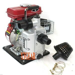 2 5hp Gas Water Pump Semi Trash 1 5 Npt Air Cooled Engine 2 Strok 40zb15 1 4q