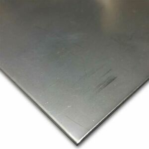 301 1 2 Hard Stainless Steel Sheet 0 020 X 24 X 36
