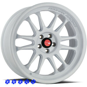 Aodhan Ah07 Wheels White 18 30 Staggered Rims 5x114 3 Fit Hyundai Genesis Coupe