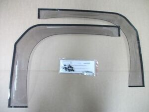 Weathershields 75 Series Toyota Landcruiser Pc Troopie With 1 4 Glass Aust Made