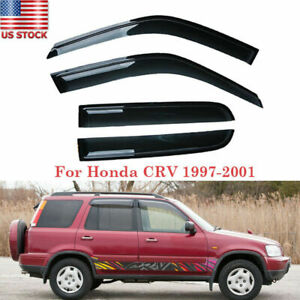 For Honda Cr V Crv 1997 1998 1999 2000 2001 Window Visors Rain Guard Shade Trim