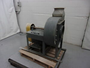 Dayton 3c107 7 5 Hp Radial Blade High Pressure Industrial Blower blo1246