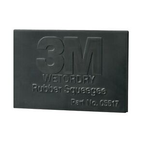 3m 05517 3m Wetordry Rubber Squeegee Filler Putty Applicator 2 In X 4 In