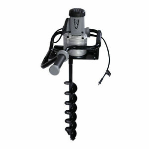 1200w Electric 1 6hp Post Hole Digger Earth Soil Ice 4 Auger Bit Hex Spanner