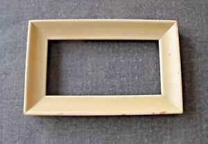 Vintage Creamy Wooden Picture Frame