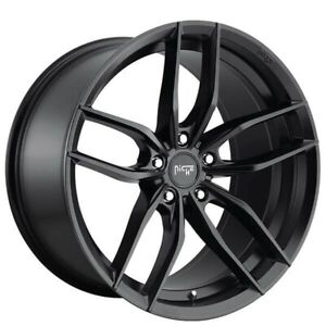 4new 19 Staggered Niche M203 Vosso Matte Black Wheels And Tires