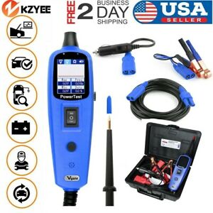 12v24v Car Power Circuit Tester Electrical Diagnostic Tool Avometer Powerscan