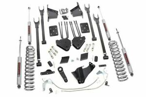 Rough Country 6 Lift Kit Fits 2015 2016 Ford Super Duty F250 4wd 4 Link Susp