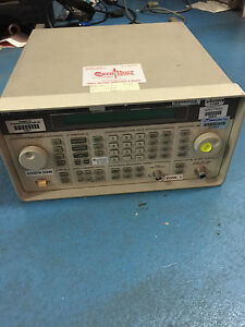 Hp Agilent 8648c 100khz 3 2 Ghz Signal Generator Option 1ea