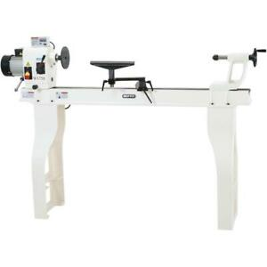 Shop Fox W1758 Wood Lathe With Stand And Dro 16 X 46