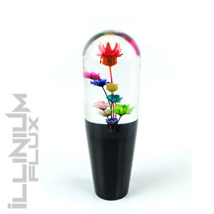 Multi Color Flower Shift Knob For Manual Short Throw Gear Shifter 6 1 2x20 K68