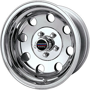 15x10 Polished American Racing Baja Wheels 5x4 5 43 Lifted Ford Ranger