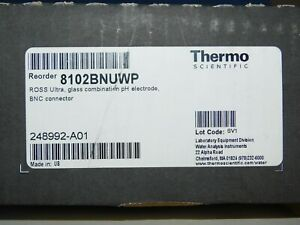 Thermo Scientific Orion 8102bnuwp Ross Ultra Ph Electrde