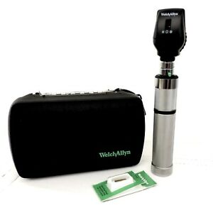 Welch Allyn Ophthalmoscope 3 5v Macroview Otoscope 11720 Head 71050 c 05259 m