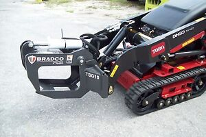 Mini Skid Steer Loaders Tree And Shrub Grapple Fits Toro Ditch Witch Vermeer