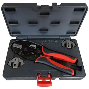 3 Die Bootlace Ferrule Crimping Tool Kit Cord End Crimper Awg 22 2 0 5 35mm