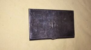 Vintage Reed Barton 689 Silverplated Card Case Holder