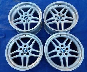Bmw E38 750 Oem Factory Mpar Mparallel 18x9 5 8 Staggered Style 37 Forged Wheels